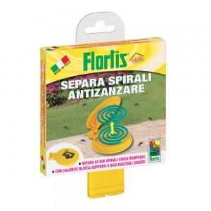 Кутия-Стойка за разделяне на спирали, прогонващи комари – FLORTIS - 1 бр. на най-добра цена