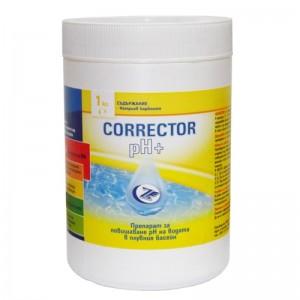 POOL pH+плюс коректор 700 гр. на най-добра цена