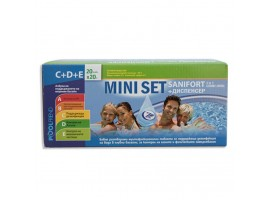 POOL Mini Set - Санифорт комби таблети 20 г (мини) х 20 и плаващ диспенсер