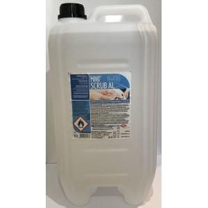 СКРУБ АЛ ХМИ (HMI® SCRUB AL) - 10 л. Дезинфектант на алкохолна основа 72% етанол за хигиенна и хирургическа дезинфекция на ръце и кожа с дълготрайно действие  на най-добра цена