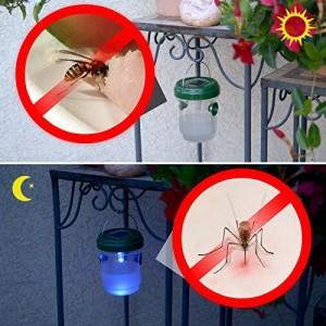 Соларен безопасен капан за оси и комари GARDIGO  на най-добра цена