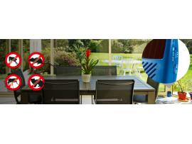 Електронни устройства срещу комари - Соларен уред против мишки и плъхове и мухи, комари и бълхи, хлебарки и белки, 3 в 1, Gardigo  на най-добра цена