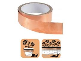 Еко продукти - Защитна медна лента против голи и градински охлюви – 4 м  на най-добра цена