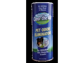 Обезмирисител - Clear-the-Air гранули - Обезмирисител елиминира миризма на урина, изпражнения, на куче, цигарен дим, плесен и други неприятни миризми на най-добра цена
