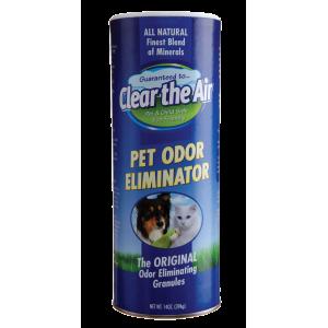 Clear-the-Air гранули - Обезмирисител елиминира миризма на урина, изпражнения, на куче, цигарен дим, плесен и други неприятни миризми на най-добра цена