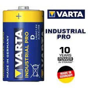 """Алкална батерия VARTA INDUSTRIAL PRO, размер размер """"D"""" (R20) - 1 бр. на най-добра цена"""