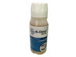 Биоциди (Инсектициди) - К-ОБИОЛ (BAYER) Препарат за житна гъгрица, брашнян бръмбар, зърнен бръмбар, бобова гъгрица, тютюневия (складов) молец,  оризовия молец, молец по сушените плодове и житен молец - 20 мл на най-добра цена