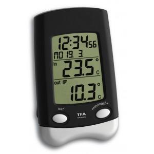 WAVE- Безжичен външен термометър с час и дата - 30.3016.01.IT на най-добра цена