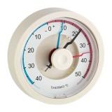 Биметален термометър за минимална и максимална температура - 10.4001