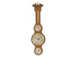 """TFA Dostmann - Германия - Метеорологична станция с кварцов часовник - масив дъб """"Шератон"""" - 45.3004.01 на най-добра цена"""