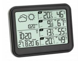 """Метеорологична станция с три външни датчика """"VIEW"""" - 35.1142.01"""