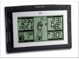 """TFA Dostmann - Германия - Метеорологична станция """"Weather Girl XS"""" - 35.1064.01.51.IT на най-добра цена"""