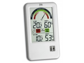 """TFA Dostmann - Германия - Метеорологична станция с анализ на въздуха """"BEL-AIR"""" - 30.3045.IT на най-добра цена"""