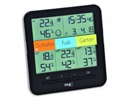 """WEATHER HUB-Метеорологична станция с три датчика """"Klima-Home"""" - 30.3060.01.IT"""