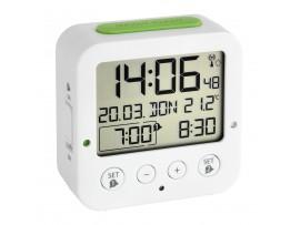 "Часовници - Настолен часовник с две аларми и дискретна подсветка - ""BINGO"" - 60.2528.02 на най-добра цена"