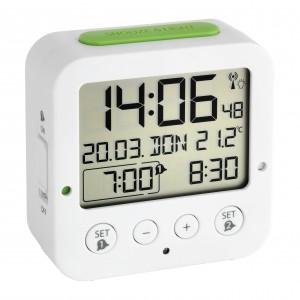 "Настолен часовник с две аларми и дискретна подсветка - ""BINGO"" - 60.2528.02 на най-добра цена"