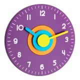 POLO - Стенен часовник, цветен - 60.3015.11