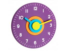 Всички продукти - POLO - Стенен часовник, цветен - Безшумен - 60.3015.11 на най-добра цена