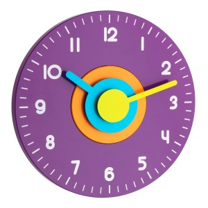 POLO - Стенен часовник, цветен - Безшумен - 60.3015.11 на най-добра цена