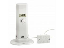 WEATHER HUB-Предавател за температура и влажност с дисплей и детектор за вода - 30.3305.02