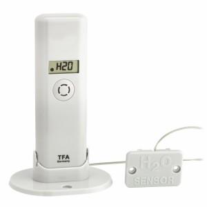 WEATHER HUB-Предавател за температура и влажност с дисплей и детектор за вода - 30.3305.02 на най-добра цена