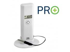 Всички продукти - WEATHER HUB-Предавател за температура и влажност с дисплей, кабелен сензор и PRO функции - 30.3302.02 на най-добра цена