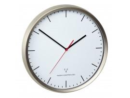 Часовници - Радио-управляем, безшумен, стенен часовник - 60.3521.02 на най-добра цена