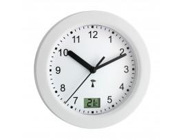 Часовници - Радио контролируем часовник за баня с термометър - 60.3501 на най-добра цена