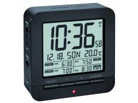 Часовници - Радиоуправляем алармен часовник с термометър - 60.2536.01 на най-добра цена