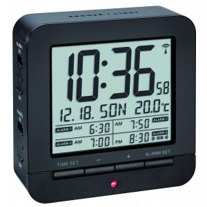 Радиоуправляем алармен часовник с термометър - 60.2536.01 на най-добра цена
