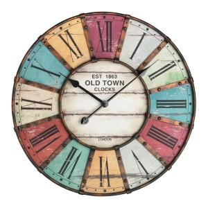 Старинен стенен часовник с метален обков 'Vintage' - 60.3021 на най-добра цена