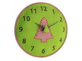 Часовници - Стенен часовник от филц, борче - 60.3025.04 на най-добра цена