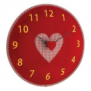Стенен часовник от филц, сърце - 60.3025.05 на най-добра цена