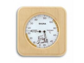Термометри - Термометър-хидрометър за сауна, дървен - 40.1007 на най-добра цена