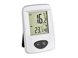 """Всички продукти - """"BASE""""- Термометър с часовник и външен безжичен датчик - 30.3061.02 на най-добра цена"""