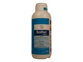 Биоциди (Инсектициди) - Солфак EW50 (BAYER) препарат против бълхи, молци, кърлежи, дървеници, бръмбари, щурци, щипалки и др.. на най-добра цена