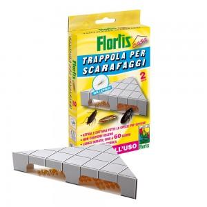 Капан - къщички за хлебарки - Flortis 2 бр. на най-добра цена