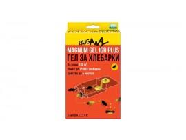 Хлебарки - Къщички Магнум с биоциден гел за унищожаване на ХЛЕБАРКИ - комплект 6 бр. на най-добра цена