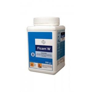 Препарат за хлебарки, мравки, бълхи, дървеници, кърлежи, комари, мухи, оси, молци  ФИКАМ W (BAYER) - 500 гр. на най-добра цена