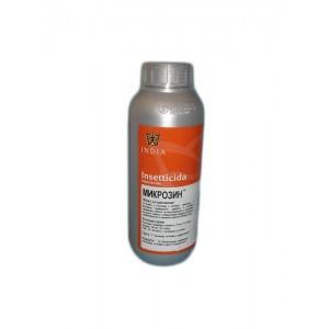 Препарат за хлебарки, мравки, бълхи, дървеници, кърлежи, комари, мухи, оси, молци, паяци  МИКРОЗИН  - 1 л. на най-добра цена