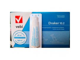 Концентриран препарат против кърлежи, бълхи, комари, хлебарки, мравки, молци, паяци, люспеници и др. DRAKER 10.2 VEBI - 20 мл