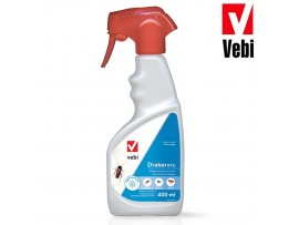 Препарат срещу хлебарки, мухи, мравки, оси, паяци, молци, бълхи Vebi DRAKER RTU Spray 400 мл