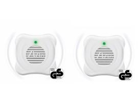 Електронни устройства срещу Комари - 2 бр. Ултразвукови уреди против комари за по 25 кв.м. Gardigo на най-добра цена