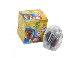 Борба с комари - Електронен ултразвуков и електромагнитен уред за прогонване КОМАРИ за 200 кв.м. с LED светлина на най-добра цена