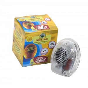 Електронен ултразвуков и електромагнитен уред за прогонване КОМАРИ за 200 кв.м. с LED светлина на най-добра цена