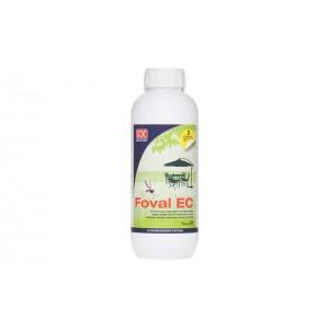 Препарат за комари с дълготраен ефект ФОВАЛ ЕК  - 1 л. на най-добра цена