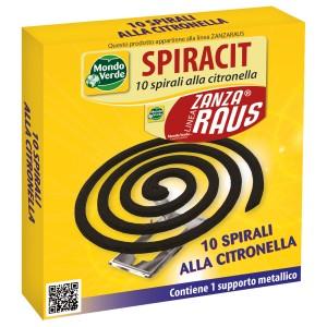 Спирали против комари с цитронела - 10 бр. - Mondo Verde Италия на най-добра цена