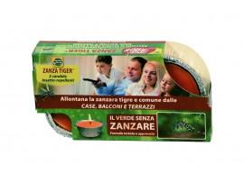 Борба с комари - Свещи ᴓ 8 см против комари - 2 бр. на най-добра цена