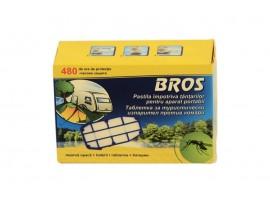 Борба с комари - Таблетка и 2 бр. батерии за преносим туристически изпарител против комари на най-добра цена