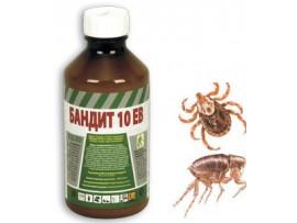 Биоциди (Инсектициди) - Препарат против бълхи, кърлежи, комари и мухи БАНДИТ 10 ЕВ - 1 л на най-добра цена